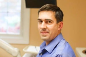 Dr. Vasyl Leskiv, DDS in Winchester Dental treatment room