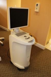 Winchester Dental's CEREC camera and monitor