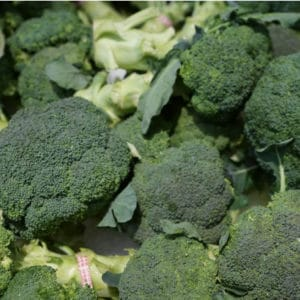 The vitamin K in broccoli supports the body's healing.