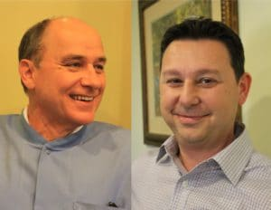 Dr. Frank Mitchell, DDS and Dr. Gio Iuculano. DDS