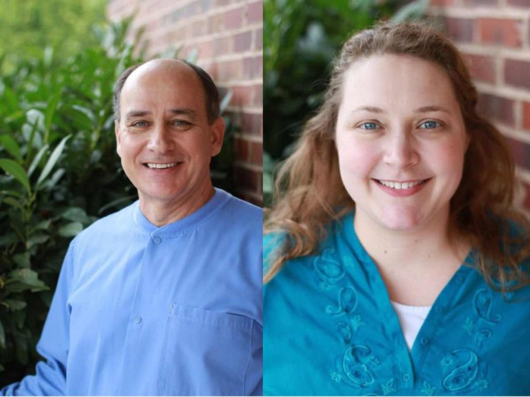 Dr. Frank Mitchell, DDS and Dr. Kelly Richardson, DDS