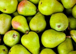 Image of green pears